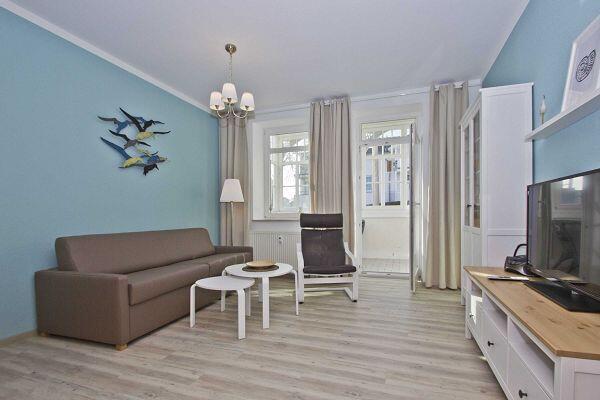 Wohnzimmer Villa Möwe 03