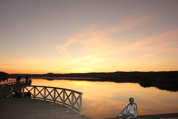 Der Schmachter See im Ostseebad Binz