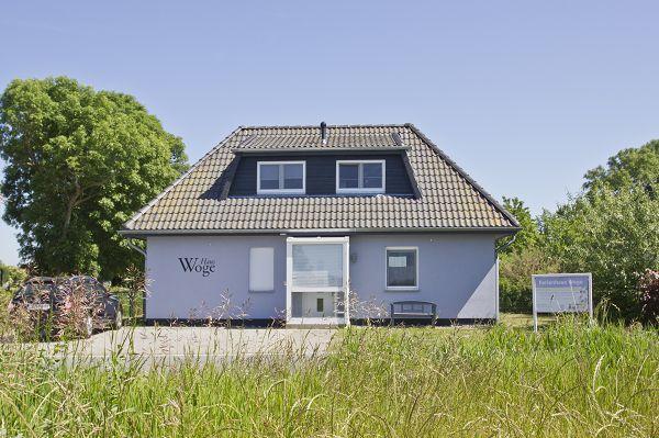 Frontansicht vom Ferienhaus Woge in Breege auf Rügen