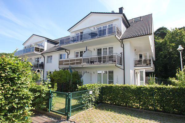 Die Ferienwohnung Calla in Thiessow auf Rügen - Außenansicht