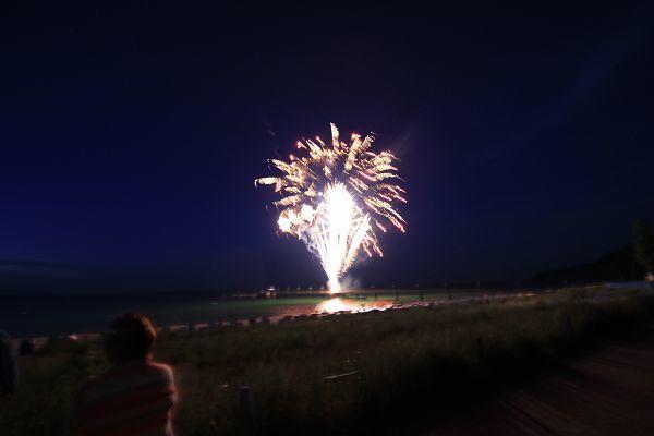 Silvester Feuerwerk in Göhren