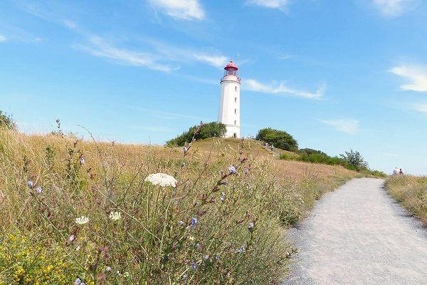 Radwege Insel Hiddensee