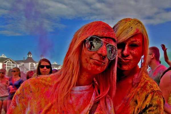 Holi Party Rügen