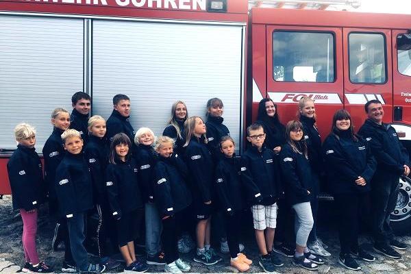 DIe Jugend Feuerwehr im Ostseebad Göhren