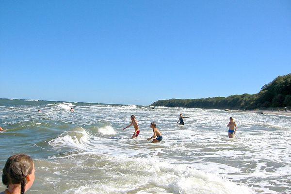Badespaß in der Ostsee