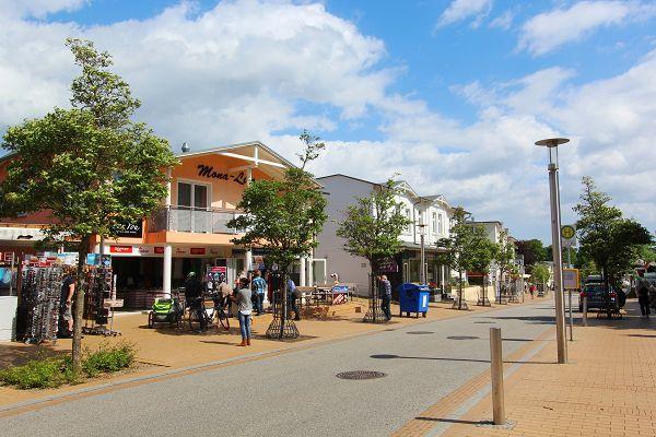 Hauptstraße von Göhren