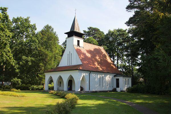 Kirche im Ostseebad Baabe
