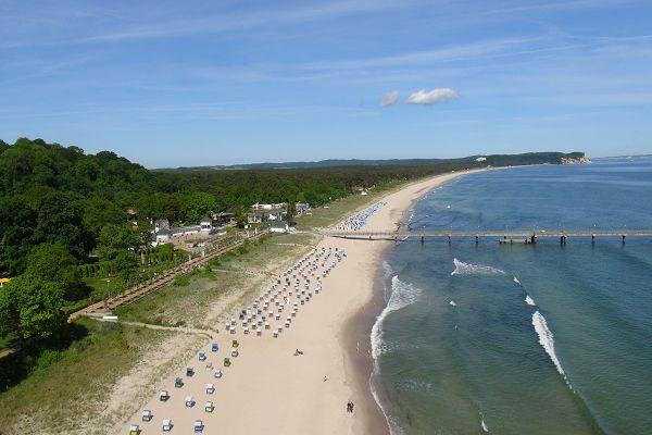 Luftaufnahme Strand Göhren