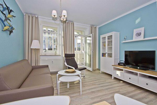 Wohnraum der Whg. 3 in der Villa Möwe