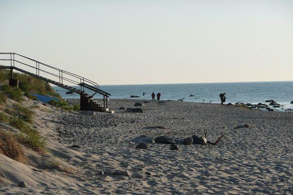 Naturstrand in Dranske