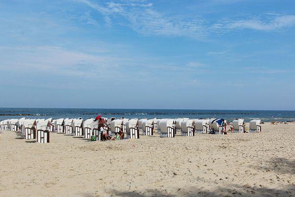 Strand im Ostseebad Sellin