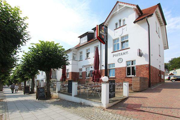 Altes Postamt im Ostseebad Sellin
