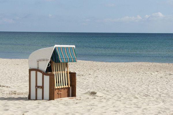 Strandkorb in Baabe