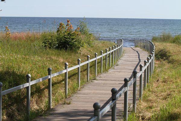 Strandzugang Ostseebad Binz