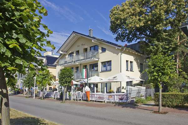 Villa Wauzi in der Strandstraße in Baabe