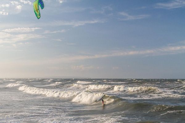 Kitesurfen auf Rügen