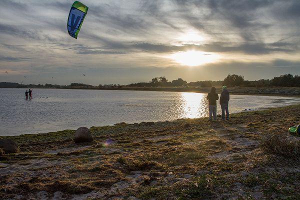 Kitesurfen auf der Insel Rügen