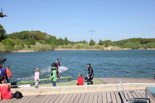 Wasserskianlage in Zirkow