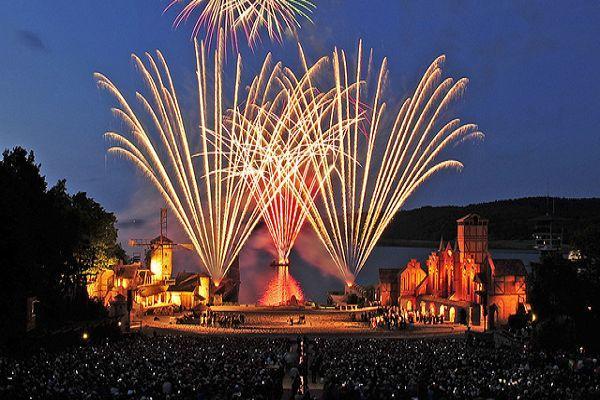 Feuerwerk Störtebeker Festspiele