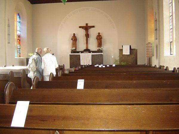 Innenansicht Kirche Göhren