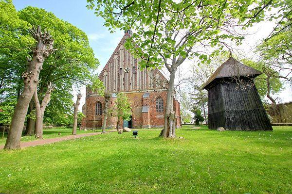 Die Kirche in Wiek auf Rügen