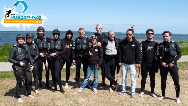 Kitesurfen auf Rügen - Surfschule Rügen-Kite