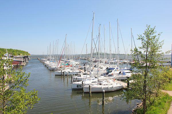 Segelhafen in Lauterbach