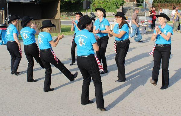 Line-Dance auf Rügen