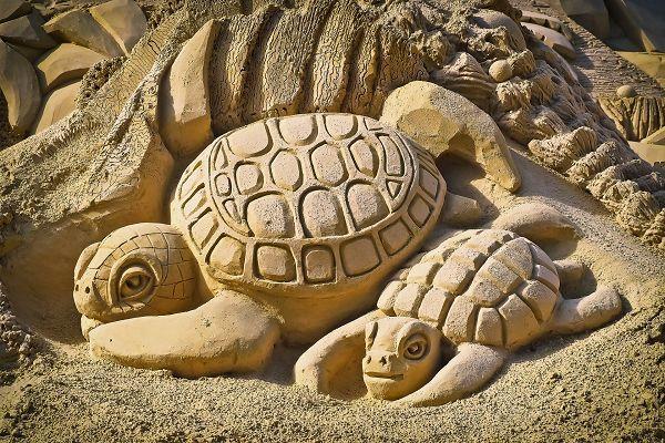 Sandskulpturen Festival in Binz