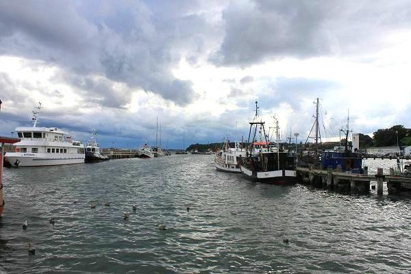Der Hafen in Sassnitz