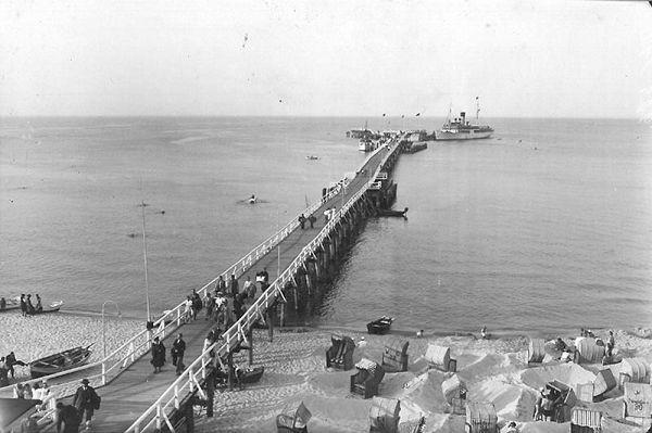 Binzer Seebrücke 1936