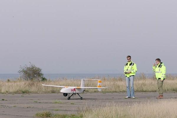 Unbemanntes Luftfahrtsystem der Seenotretter
