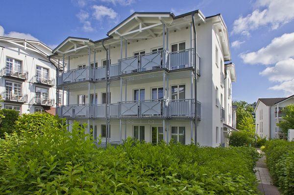 Ferienwohnungen in der Villa Buskam in Göhren