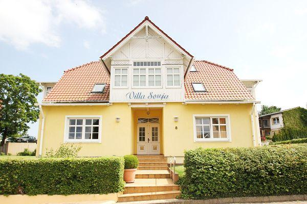 Ferienwohnugen in der Villa Sonja in Göhren