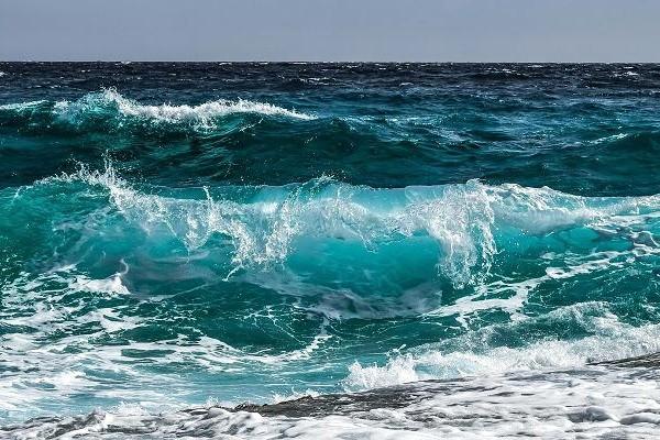 Wellengang der Ostsee